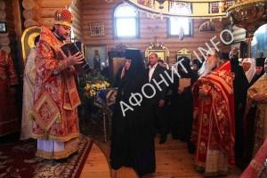 В обители Афонской иконы Божией Матери в урочище Кипячее