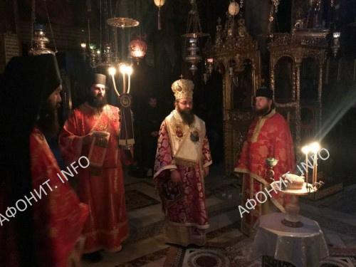 Паломнический визит на на Афон делегации Нежинской епархии УПЦ