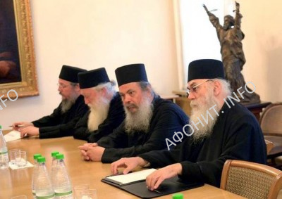 Комиссия Кинота Афона по празднованию 1000-летия русского монашества