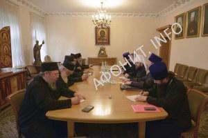 Комиссии Кинота Афона и РПЦ обсудили подготовку к празднованию 1000-летия русского монашества на Афоне