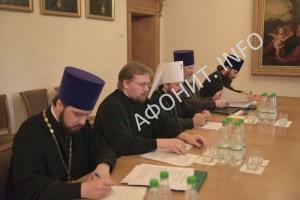 Комиссии Кинота Афона и РПЦ обсудили подготовку к празднованию 1000-летия русского монашества на Святой Горе Афон