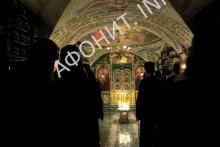 В Костнице Русского на Афоне Свято-Пантелеимонова монастыря