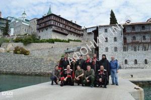 Черноморские казаки совершили паломничество на Cвятую Гору Афон