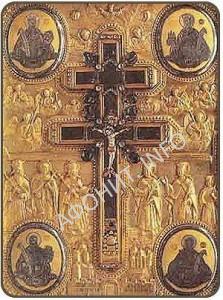 Крест Господень из монастыря Ксиропотам на Афоне