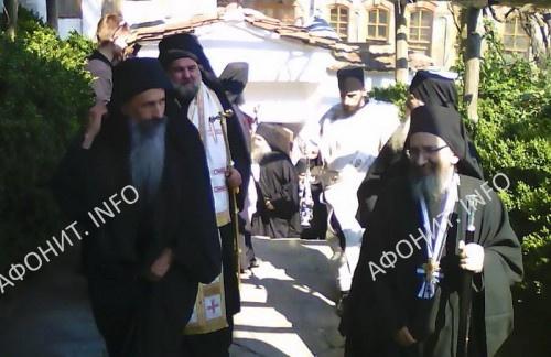 В кунаке Пантелеимонова монастыря в Карее
