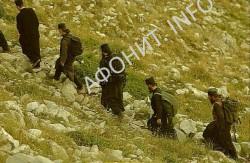 Крестный ход на вершину Афона