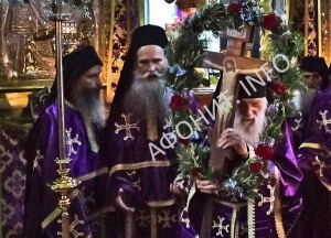 Схиархимандрит Иеремия (Алехин), игумен Русского на Афоне Свято-Пантелеимонова монастыря