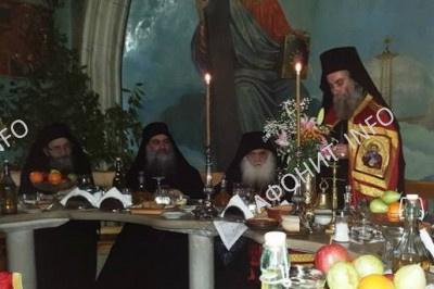 Делегация Критской Церкви посетила Святую Гору Афон