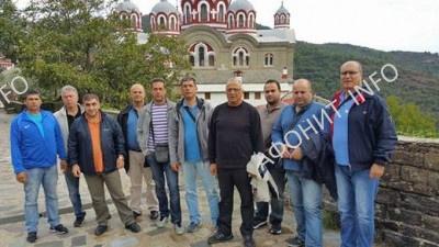 Делегация критской полиции