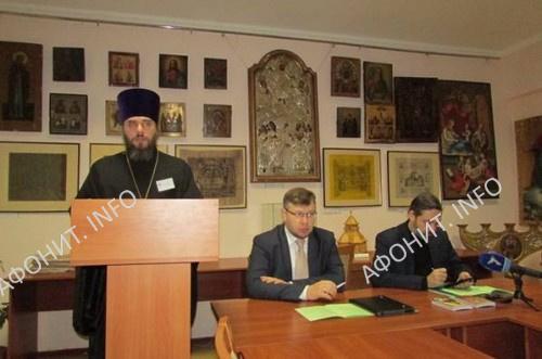 Преподаватель Одесской духовной семинарии протоиерей Дмитрий Яковенко