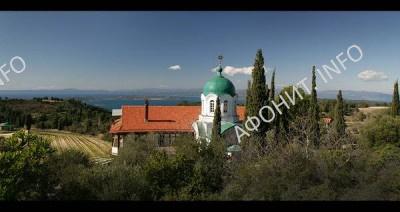 Русский скит Афонского Пантелеимонова монастыря Крумица