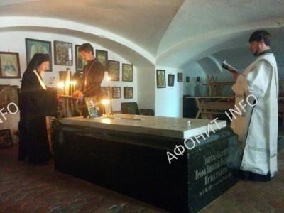 могила графа Н. П. Игнатьева