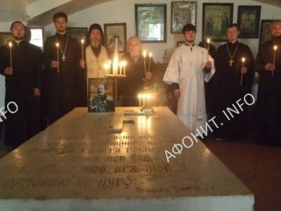 Афонская делегация посетила могилу графа Н. П. Игнатьева в селе Круподеринцы Винницкой области