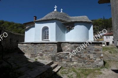 Успенский храм древнерусской обители Ксилургу на Афоне