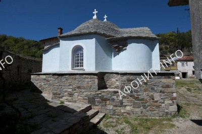 Успенский собор Ксилургу на Афоне