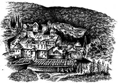 Древнерусская обитель Ксилургу на Афоне