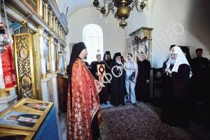 Русский скит Ксилургу на Афоне