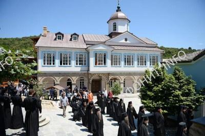 Патриарх Кирилл в древнерусской афонской обители Ксилургу на Афоне