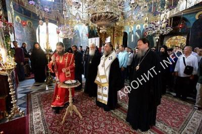 Ктиторский день в Пантелеимоновом монастыре
