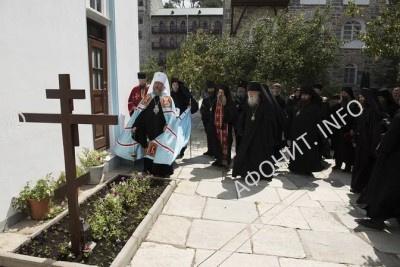 Панихида по схиархимандриту Иеремиии