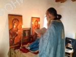 Келия Креста Ставроникитского монастыря на Афоне Старец Тихон (Голенков)