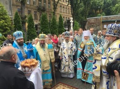 Празднование Афонской Чудотворной Львовской-Тихвинской иконы Богородицы во Львове