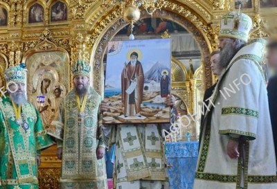 Ксилургийская икона прп. Антония Печерского, переданная с Афона