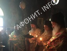 В скиту «Малая Анна» на Афоне отметили панигир в честь Апостола Фомы