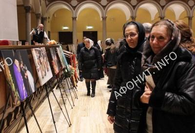 В Милане показали тысячелетнее наследие Афона
