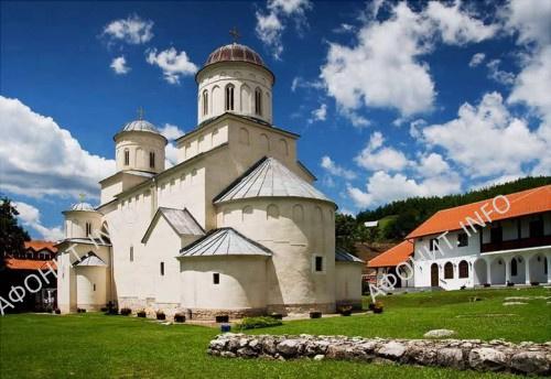 Вознесенский собор Милешевского монастыря