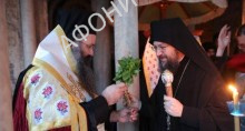Митрополит Антоний Бориспольский на Афоне