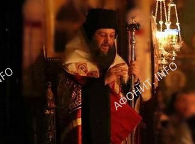 Митрополит Бориспольский и Броварской Антоний на Афоне