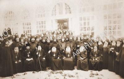 Митрополит Антоний (Храповицкий) в Пантелеимоновом монастыре на Афоне, 4 сентября 1920 г.