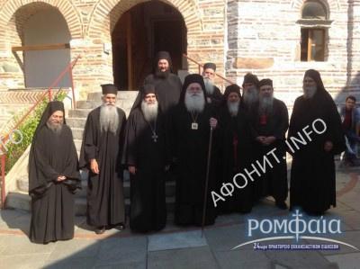 Митрополит Килкисийский Эммануил посетил Святую Гору Афон