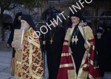 Митрополит Галльский Эммануил посетил Святую Гору Афон