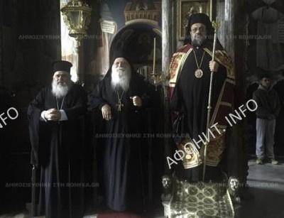 митрополит Мессинийский Хризостом посетили Святую Гору Афон
