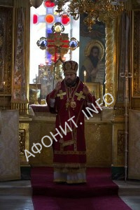 Митрополит Иларион (Алфеев) на Афоне
