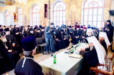 Митр. Онуфрий на Епархиальном собрании духовенства Киевской епархии УПЦ, 21 декабря 2016