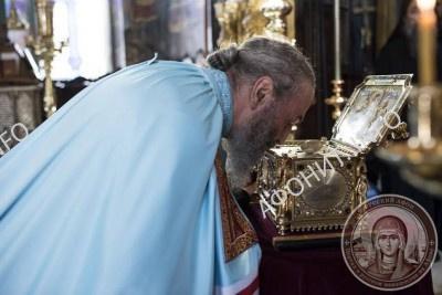 Визит Митрополита Онуфрия в Афонский Пантелеимонов монастырь, 4 ноября 2015 г.