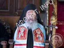 Митрополит Онуфрий Киевский на Афоне в Пантелеимоновом монастыре