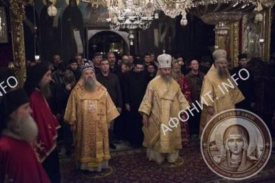 в Русском на Афоне Свято-Пантелеимоновом монастыре