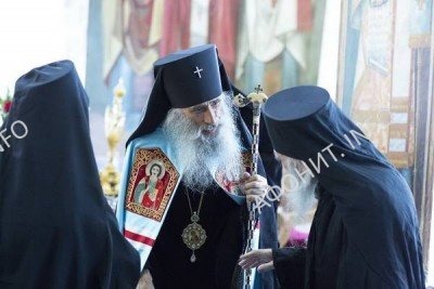 Митрополит Сергий Тернопольский в Пантелеимоновом монастыре на Афоне