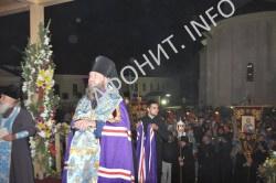 """Копию афонской чудотворной иконы """"Аксион эсти"""" торжественно встретили в Молдове"""