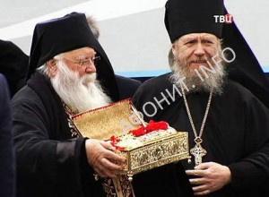Мощи Георгия Победоносца доставили в Россию