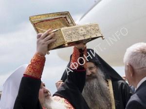 Мощи Георгия Победоносца в Ставрополе