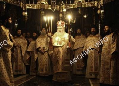 Глава Неапольской митрополии посетил Святую Гору Афон
