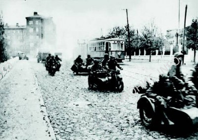 Немцы в Мариуполе, 1942 г.