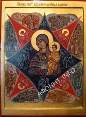 Икона Пресвятой Богородицы «Неопалимая Купина»