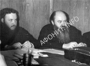 Митрополит Никодим (Ротов) и епископ Кирилл (Гундяев)