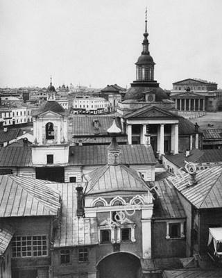 Никольской монастырь в Москве (Иверское подворье). Нач. ХХ века